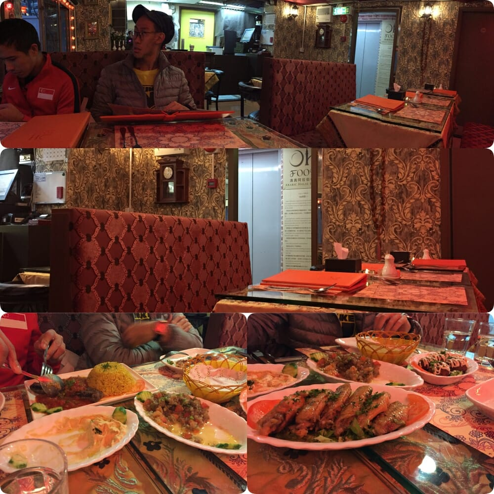 Oh Food Halal Arabic Cuisine in Wan Chai